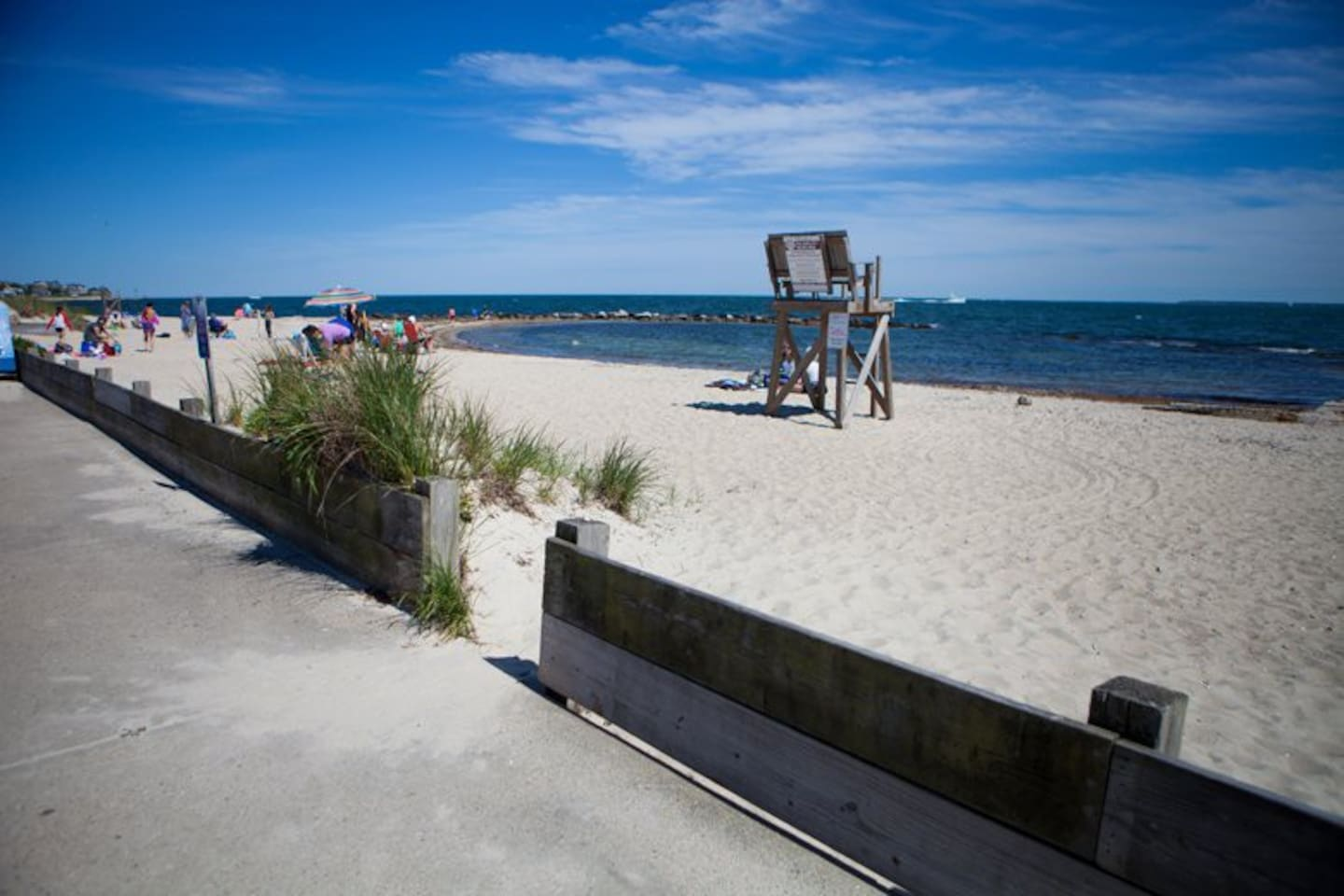 Surf Drive Beach is just steps away.  The beach is on the Vineyard sound.