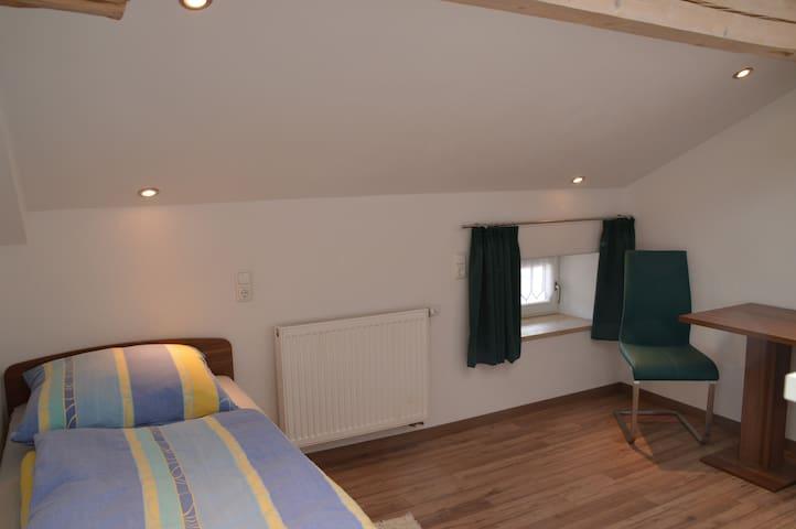 Einzelzimmer mit Frühstück - Pappenheim - Bed & Breakfast