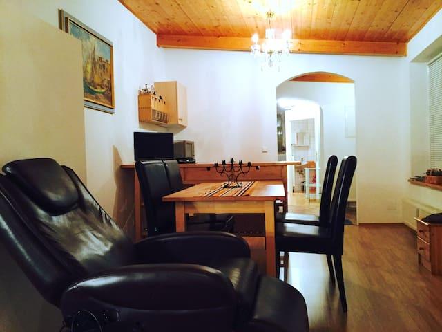 Ebenerdiges Apartment mit wunderschönem Innenhof - Krems an der Donau - Apartamento