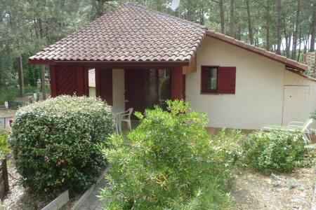 Villa terrasse dans résidence avec piscine 2/4 p - Moliets-et-Maa