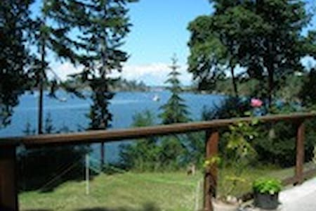 Beautiful waterfront island home - Saturna - House
