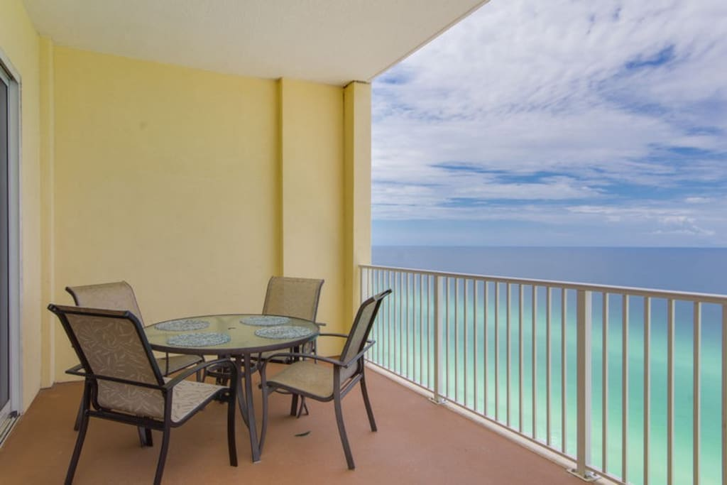 Take In The Picturesque Views Of The Gulf Of Mexico From Your Balcony