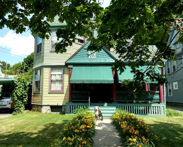 Queen Anne Bed & Breakfast Room # 1 - Binghamton - Casa