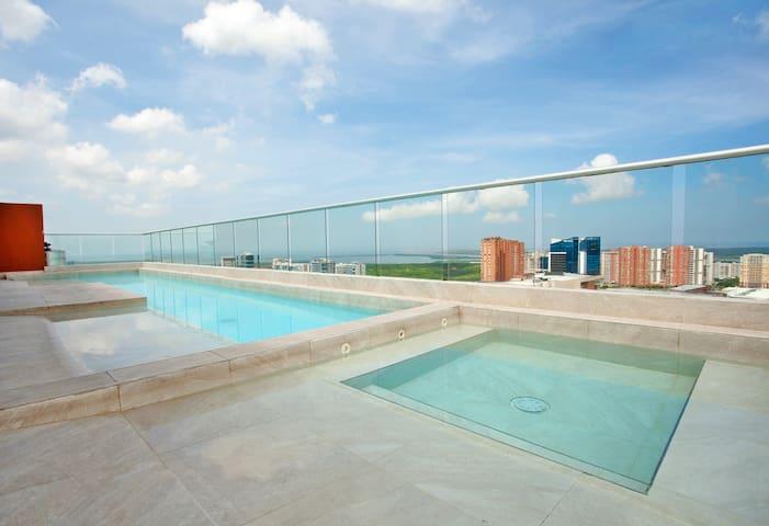 {Minimalist Loft} A/C & #S-pool #Gym #Relax