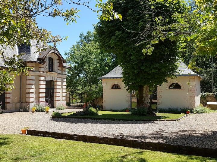 Gîte de charme et spa privatif à 5 km de Chambord