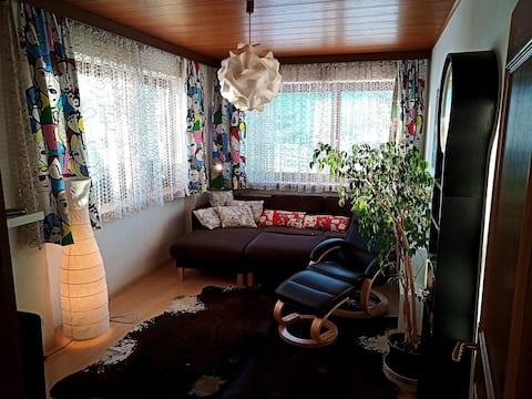 Viehättävä erittäin aurinkoinen huoneisto Castelrottossa
