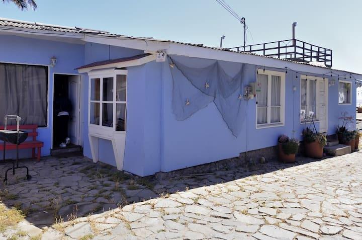 Cabaña15 al lado playa 4 pers - Maitencillo Norte