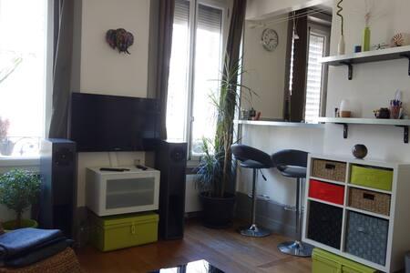 Appartement 38m² dans quartier branché
