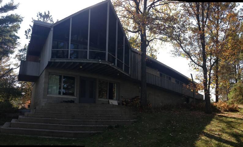 Beautiful Home On Fish Hook River - Sleeps 20 - Park Rapids - Casa