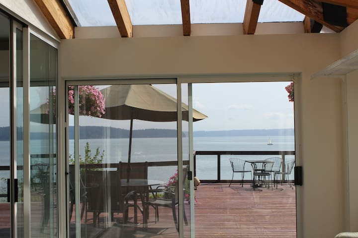 YOUR SUNROOM -WE CALL A GARDEN/COFFEE or WINE ROOM