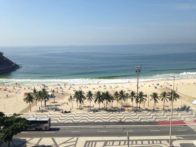 Vista panorâmica da Praia de Copacabana