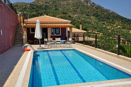 Eleni One Bedroom Villa with Sea View - Vasilikos