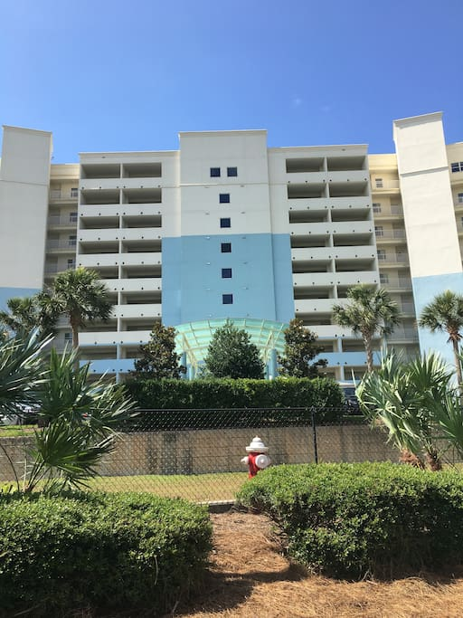 Front of the condo