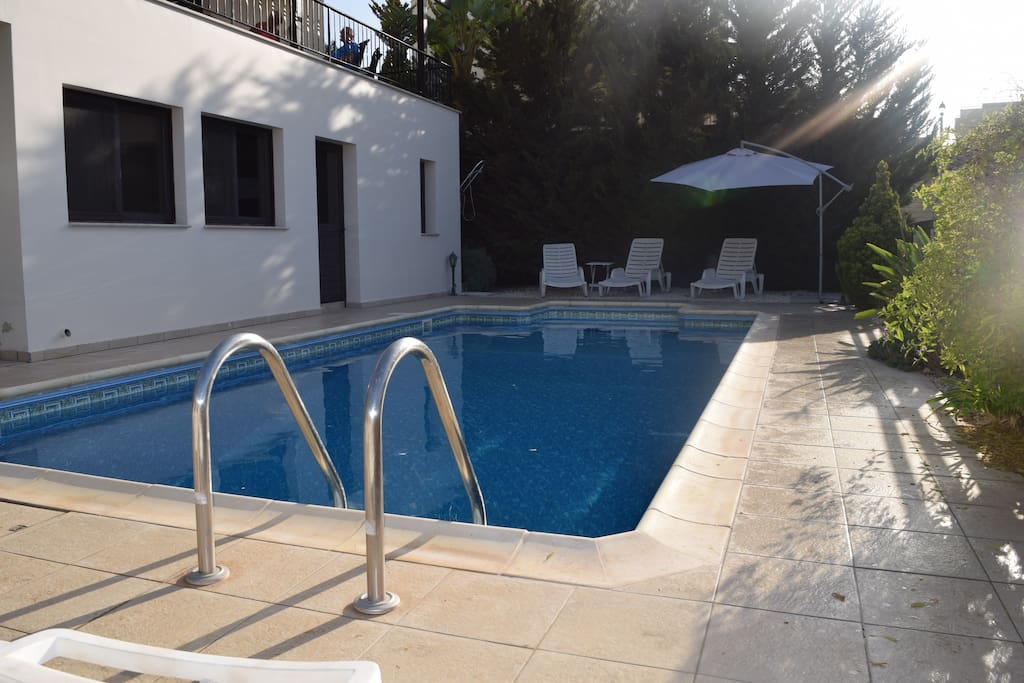 Large (8x4) Private Swimming Pool with Loads of Pool Toys