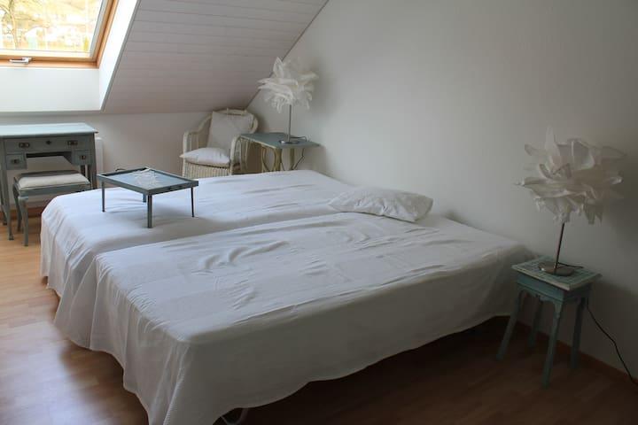 Helles grosses Dachzimmer - Bremgarten - House