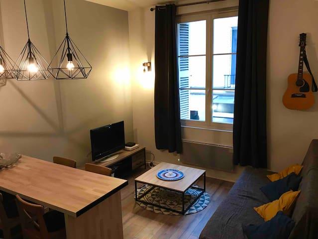 Appartement moderne quartier historique