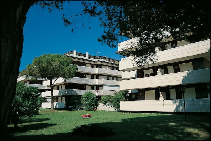 Appartamento con due camere con terrazzo 5 adulti