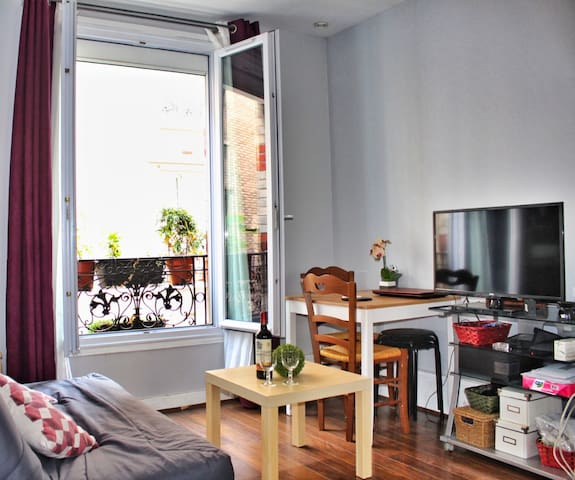 Beautiful apartment in the center of Paris