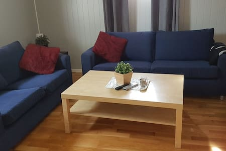 Egen liten leilighet med egen inngang.