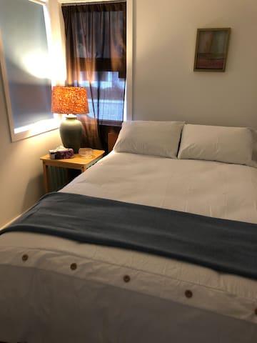 Bedroom #2. Double bed.