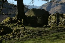 This is my favourite spot. The Langdale Boulders