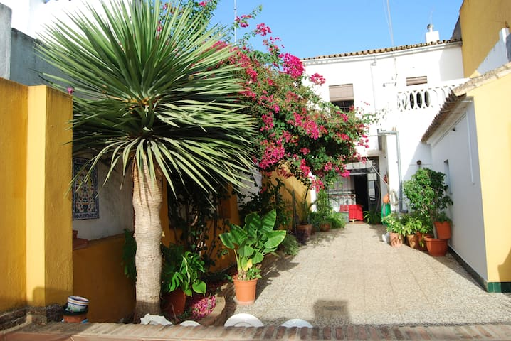 Andalusian Charming House near Portugal & Sevilla - Valverde del Camino - Huis
