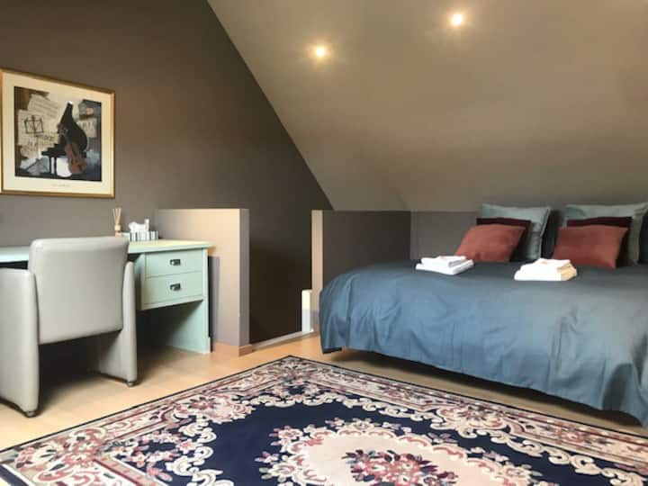 Charming cosy guesthouse for 6 guests, free garage