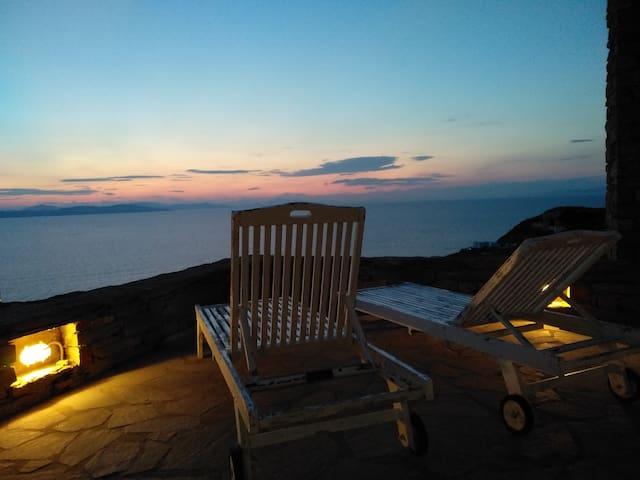 Kea Sunset Home, Melissaki wi-fi