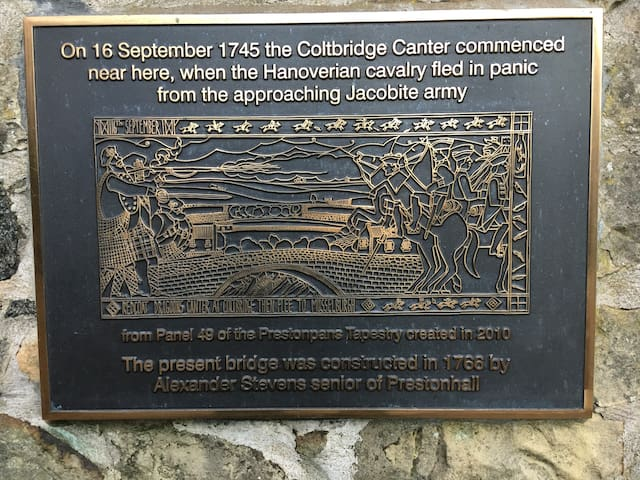The Coltbridge area has a strong historical significance for Edinburgh and Scotland.