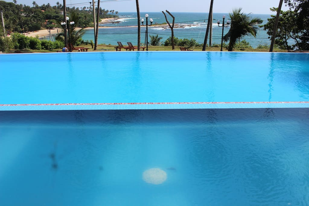 Infinity Swimming pool with magnificent view