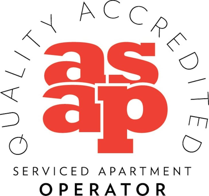 Urban Stay has achieved the quality accreditation by the Association of Serviced Apartment Providers (the ASAP)