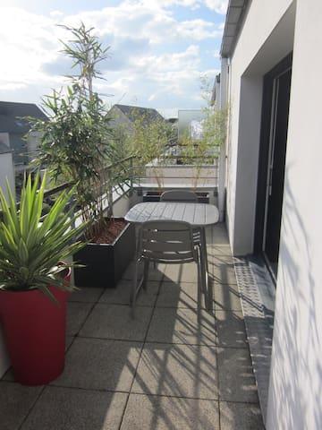 T2 à 5 mn de Vannes, terrasse Sud - Plescop - Apartamento