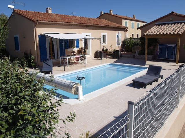 Villa avec piscine à Octon - Octon - Casa