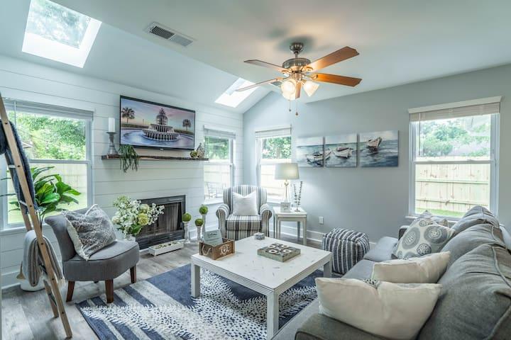 Open, coastal living space