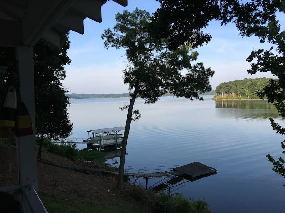 another view of the Lake from the Porch