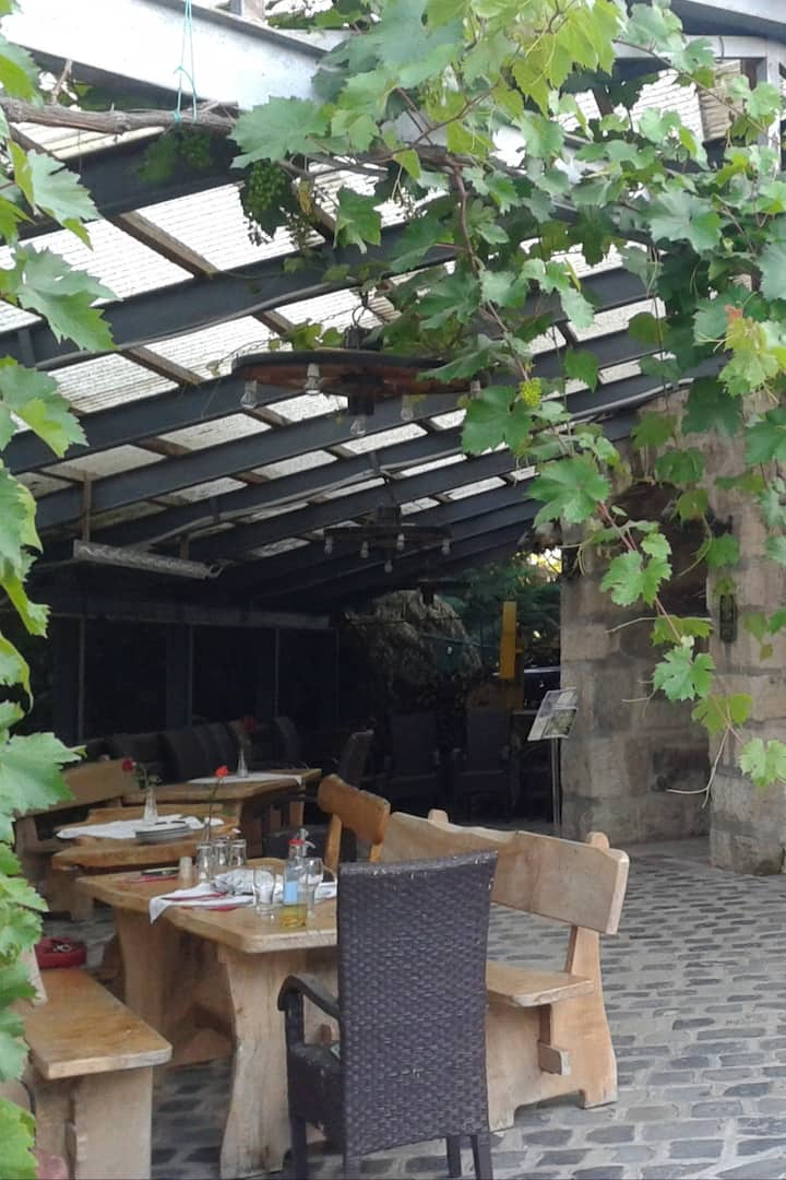 Lunch in the Winery Garden