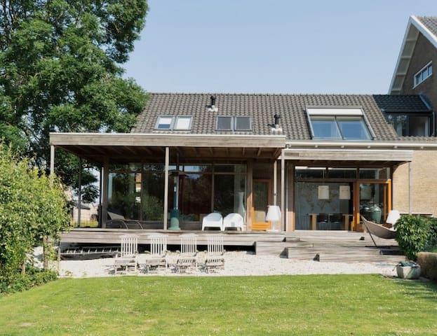 Fantastische woning, riante tuin  en zonneterras