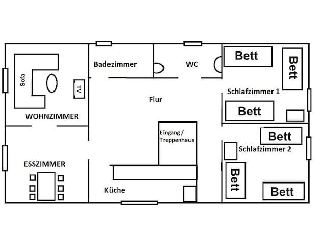 Ferienwohnung Heiligenhaus - Heiligenhaus