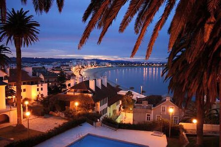 Carmona : Vakantiehuis aan zee (met zwembad) - São Martinho do Porto - Apartamento