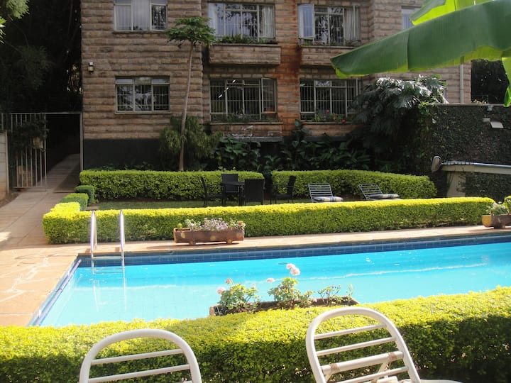 Brookview 1 Bedroom Kilimani (Monthly)