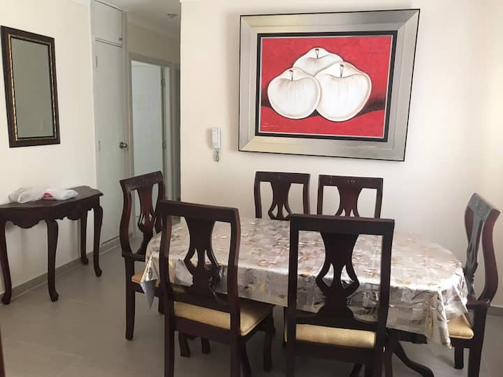 Residencial Las Palmeras, Salcedo With WiFi+cable