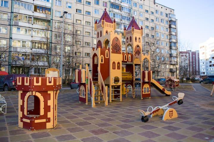 Cosy and comfortable flat/Уютная квартира - Sankt-Peterburg - Leilighet