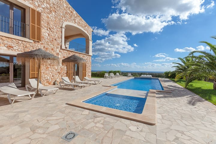Mansion Ses Oliveres - villas2rentMallorca - Felanitx - Hus