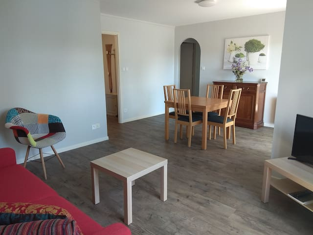Appart.53 m², 2-4 pers,2 terrasses Strasbourg Sud