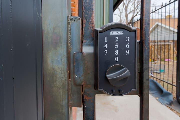 Secure Keyless Entrance
