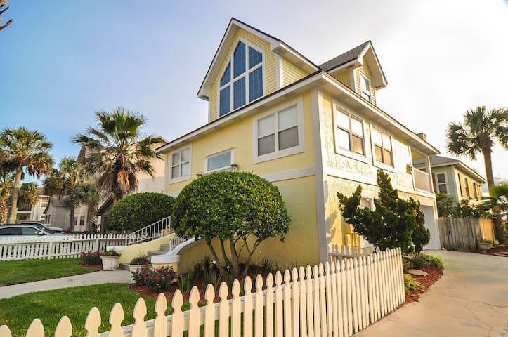 The Yellow House - Jacksonville Beach - Σπίτι