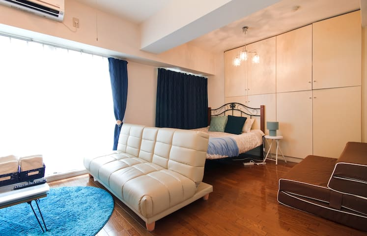 1min walk Shin-Osaka vintage Modern 30㎡ very Clean
