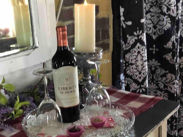 A wine tray