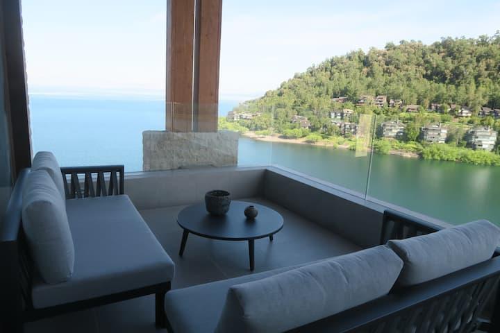 Espectacular Vista Pucón a orillas Lago Villarrica
