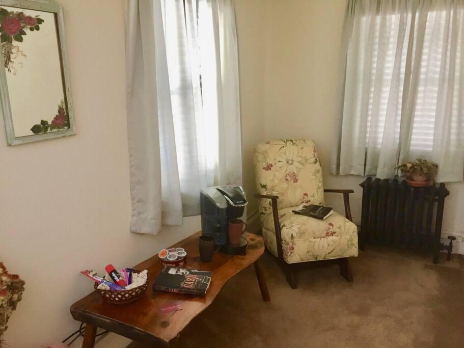 Large bedroom (part)